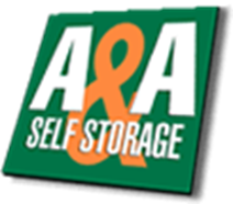 A & A Self Storage logo