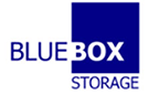 blue box storage logo