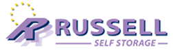 russell self storage logo