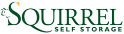 squirrel self storage logo