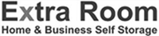 extra room home & business self storage black and white logo