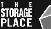 the storage place black and white logo