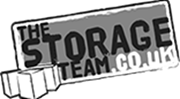 the storage team black and white logo