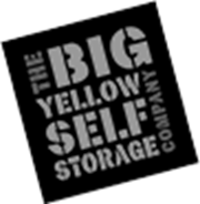Big Yellow Self Storage black and white logo