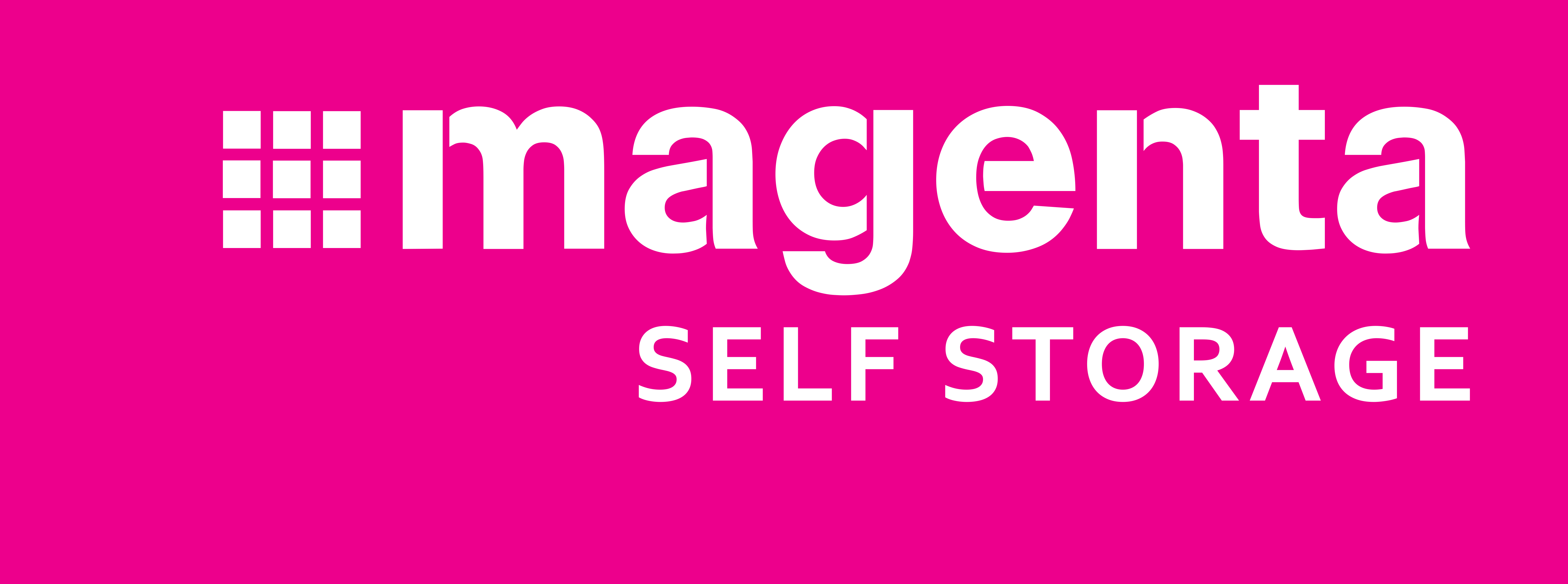 Magenta Self Storage logo