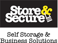 store and secure logo